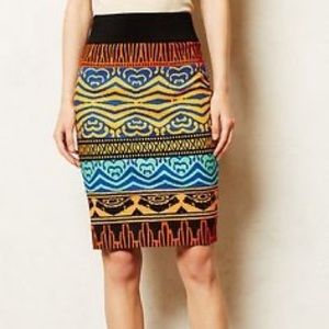 ANTHRO Plenty By Tracy Reese Pencil Skirt 4